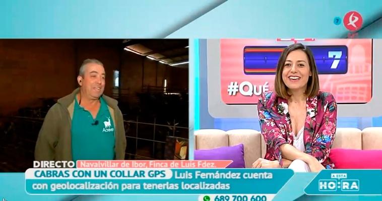 """La Cabra Verata en """"A esta Hora"""" de Canal Extremadura"""