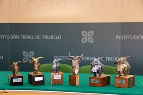 Trofeos del Concurso Morfológico de Cabra Verata
